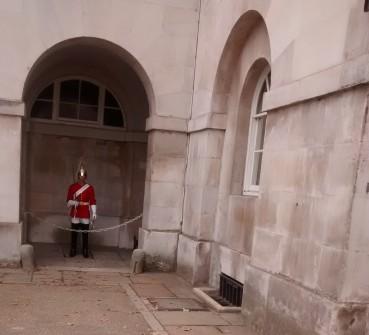 Guardia dentro de Horse Guards