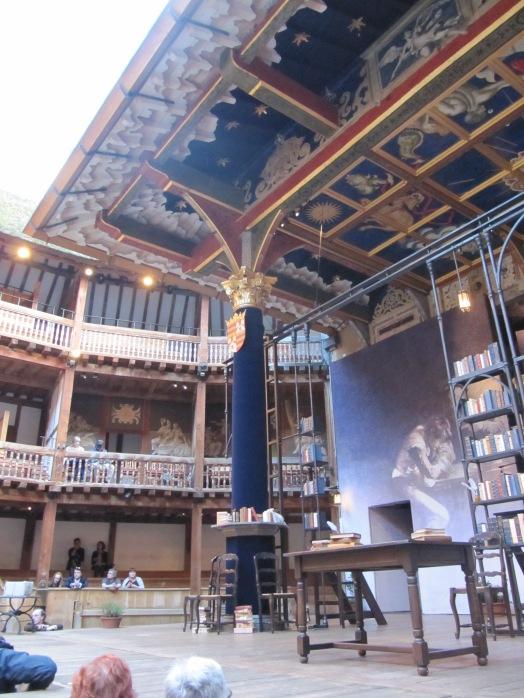 shakespeare globe escenario