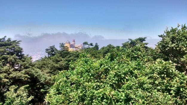 vista de Palacio desde la cruz