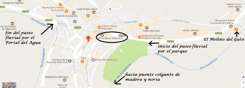 mapa paseo